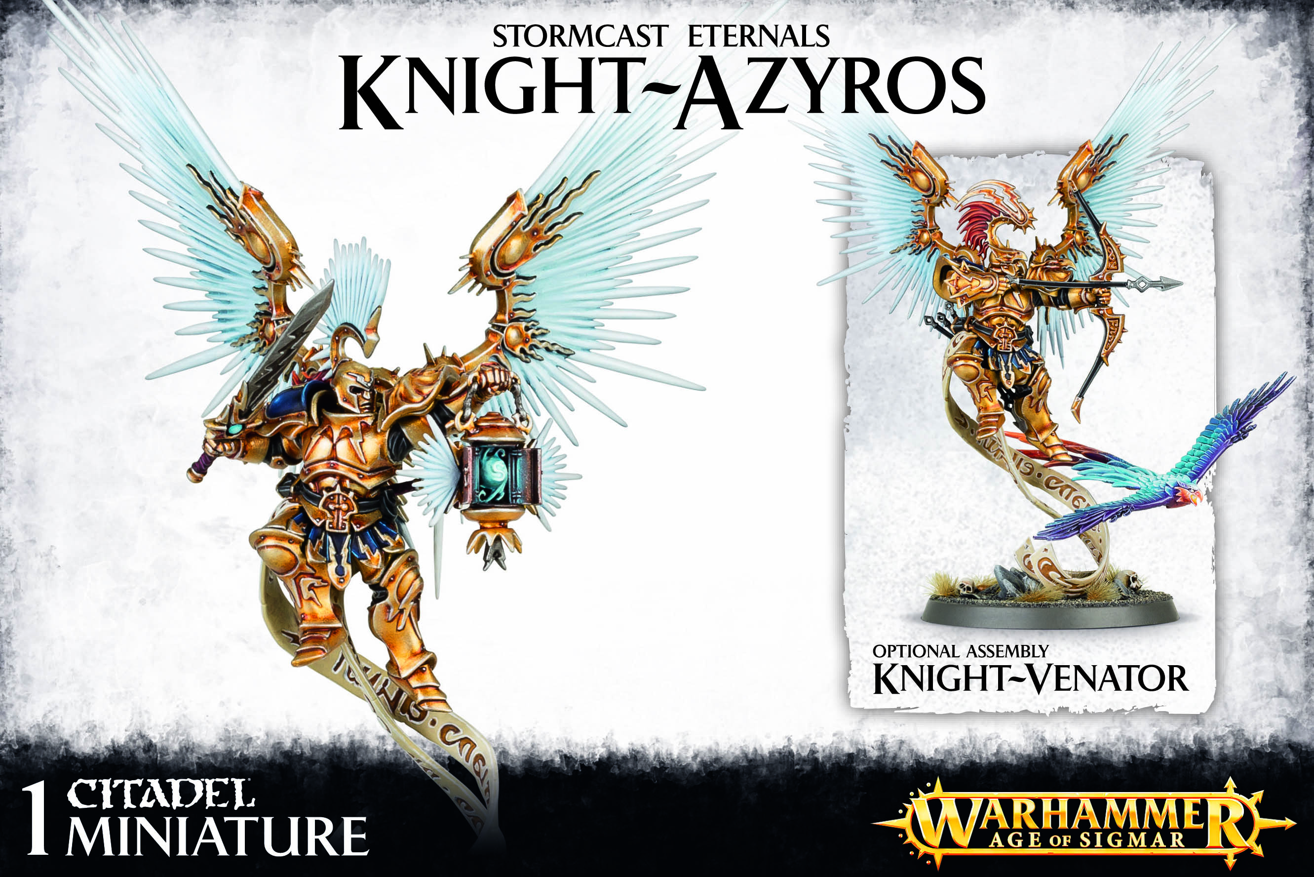 Knight-venator des stormcast eternal