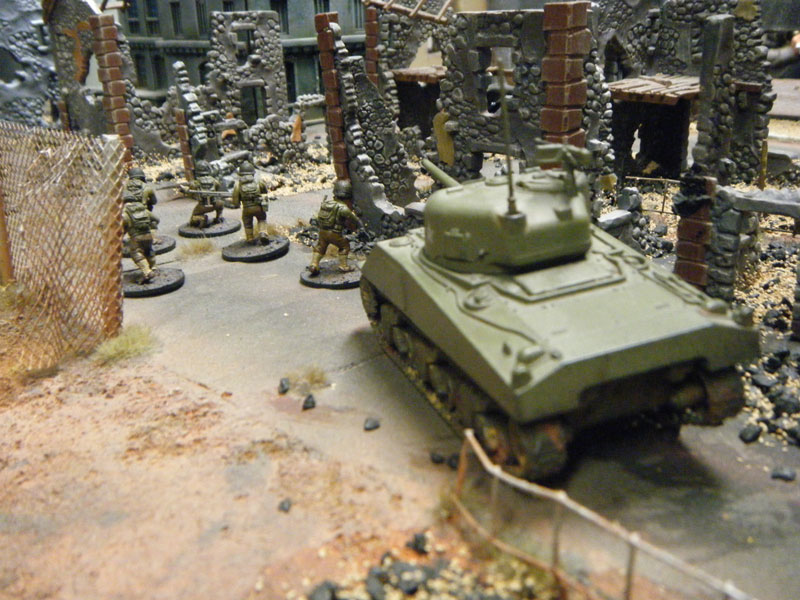 Sherman et soldats US de Bolt Action