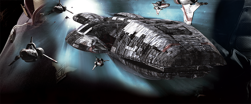 Illustration Battlestar Galactica