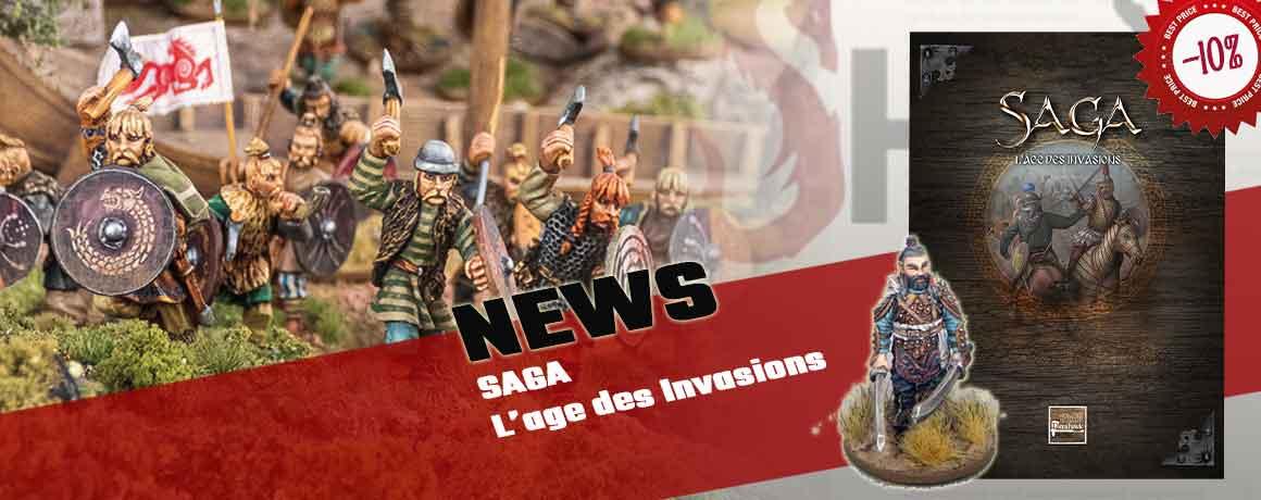 NEWS SAGA L'Age des Invasions