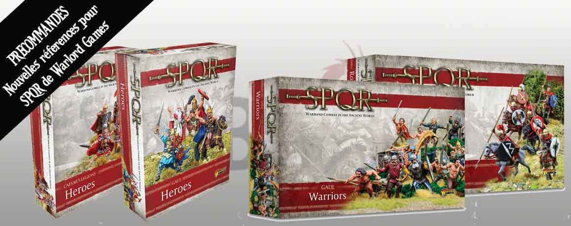 SPQR, Combats de héros dans l'Antiquité